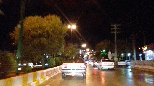مردم در شهر جوانرود به خیابان ها پناه برده اند