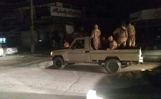 اعزام نیروهای ارتش به قصرشیرین در پی زلزله امشب