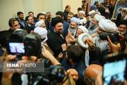 تصاویر   تجدید میثاق میهمانان کنفرانس وحدت با آرمانهای امام خمینی(ره)