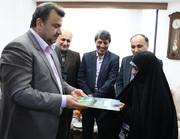 سرپرست استانداری مازندران در دیدار با مادر یک بسیجی غواص شهید چه گفت؟