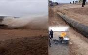 تخریب خط لوله انتقال آب زایندهرود به یزد برای بیست و پنجمین بار