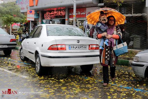 بارندگی در این شهرها ادامه دارد