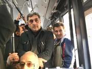 رفتوآمد شهردار جدید تهران با مترو/ عکس