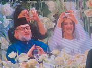تصاویر | مسلمان شدن دختر شایسته روسیه برای ازدواج با پادشاه مالزی