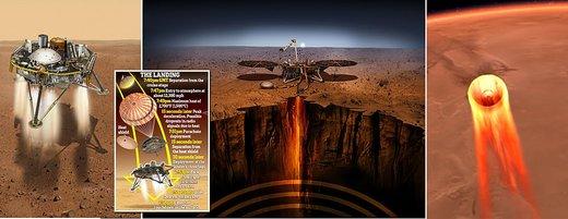 ربات اینسایت روی مریخ نشست/ اولین عکس
