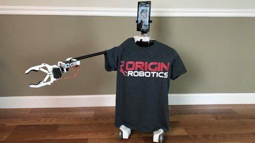 رباتی که از راه دور و با اینترنت کارهای مهم روزانه را انجام میدهد