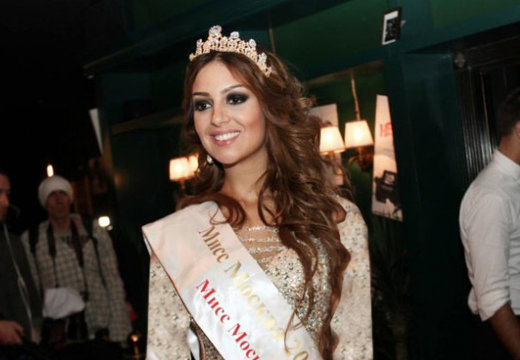 اوکسانا در سال 2015 دختر شایسته مسکو شده بود