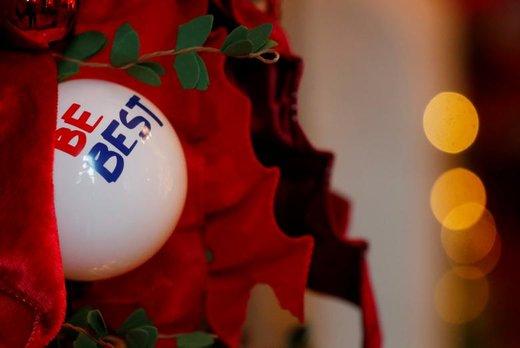 تزئین کاخ سفید به مناسبت کریسمس
