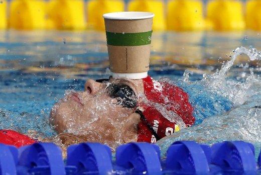 جنی منسینگ شناگر اهل آلمان در  مسابقات قهرمانی 2018 اروپا در شهر گلاسکو بریتانیا