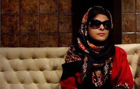 حسرتهای مریم حیدرزاده پس از نابینایی روی تابلو
