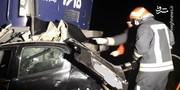 تصاویر   مرگ۴ سرنشین ۲۰۶ در تصادف با قطار تبریز-مشهد