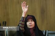 فائزه هاشمی در دورهمی سیاسی کارگزارانیها +عکس