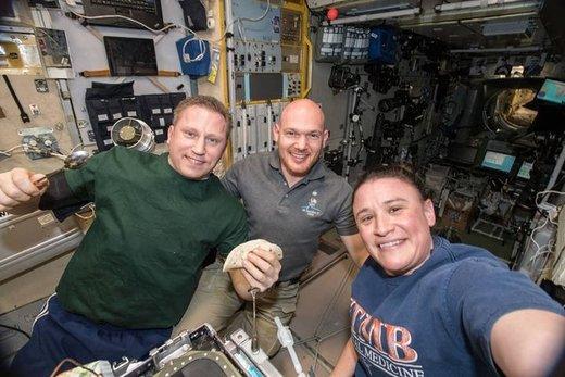 نگاهی به فعالیتهای سه فضانورد ایستگاه فضایی بینالمللی