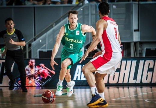 شکست سنگین بسکتبال ایران در خانه استرالیا