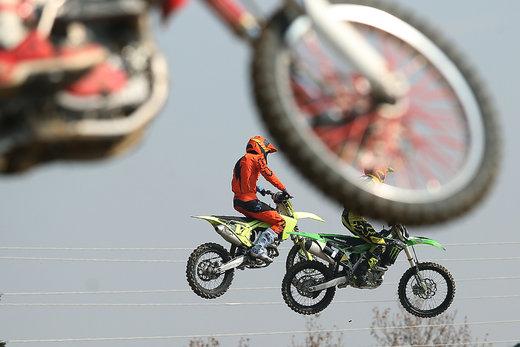 مسابقات موتور کراس استعدادهای کشور