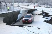 فیلم | لحظات هولناک از زلزله ۷ ریشتری در آلاسکا