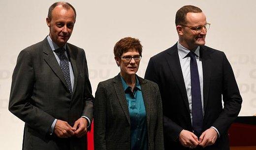 ۳ چهره جانشینی آنگلا مرکل معرفی شدند/ عکس