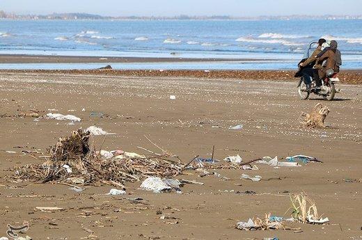 بحران زباله در سواحل گیلان