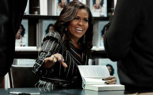 رکورد رویایی کتاب میشل اوباما/ ۲ میلیون نسخه فروش در ۱۵ روز