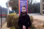 فیلم | وضعیت مهاجران ایرانی در سرمای ۱۱- درجه مرز صربستان