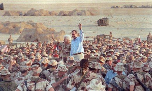 نظم نوین بوش با خاورمیانه چه کرد؟