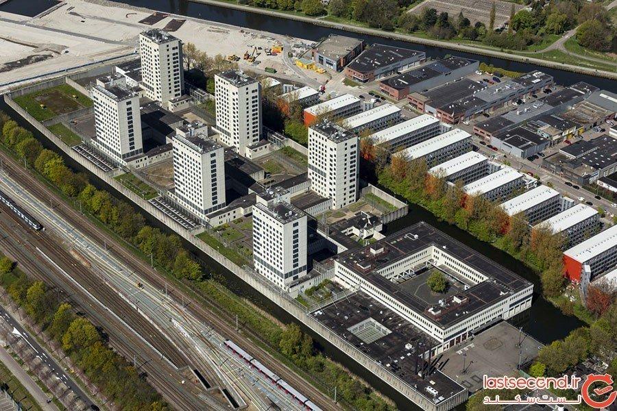 هتل زندان های هلند