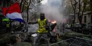 سومین شنبه اعتراض در پاریس چگونه گذشت/ عکس