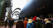 روسیه پیشرفتهترین زیردریایی اتمی خود را به آب انداخت