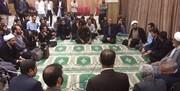 حضور سرزده نماینده رهبری در کوی دانشگاه تهران /عکس