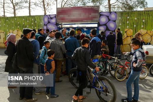 ماجرای تجمع مقابل مدرسه اصفهان چه بود؟