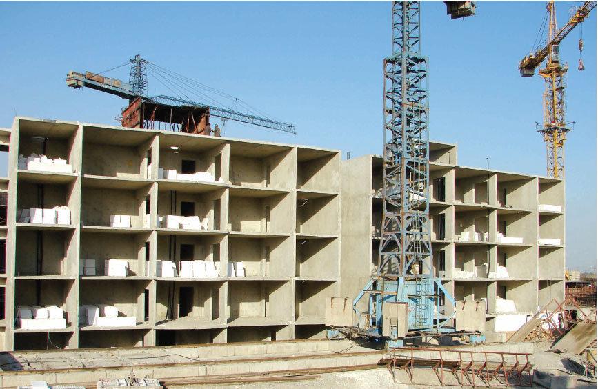 هزینه ساخت مسکن صد در صد افزایش یافته است
