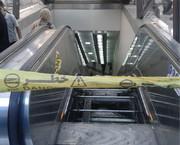 سقوط پله برقی در کرج