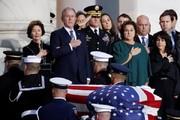 تصاویر | وداع چهرههای سیاسی با «بوش» پدر