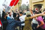 تصاویر|بصره همزمان با حضور معاون عبدالمهدی ملتهب شد؛حمله به محل اقامت معاون نخستوزیر