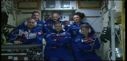 پیوستن ناو کیهانی سایوز ام.اس-۱۱ به ایستگاه فضایی بینالمللی