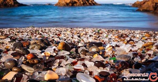 تصاویر ۱۰ ساحل عجیب و غریب دنیا