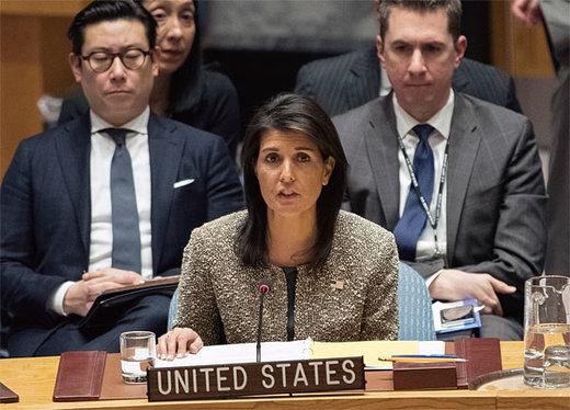 هیلی بار دیگر ایران را متهم کرد