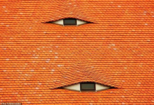 سقف غیرمعمول در شهر نورنبرگ آلمان