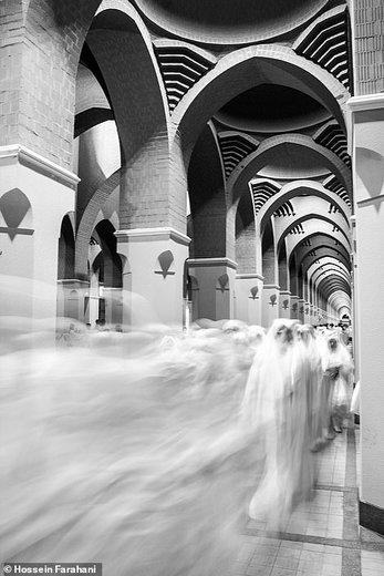مراسم حج عمره در شهر مدینه عربستان