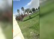 فیلم | اولین تصاویر منتشر شده از حادثه تروریستی در چابهار