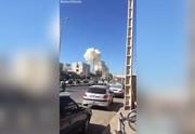 فیلم   لحظاتی پس از انفجار خودروی بمبگذاری شده در چابهار