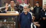 رهبر اخوانالمسلمین مصر یکبار دیگر به حبس ابد محکوم شد