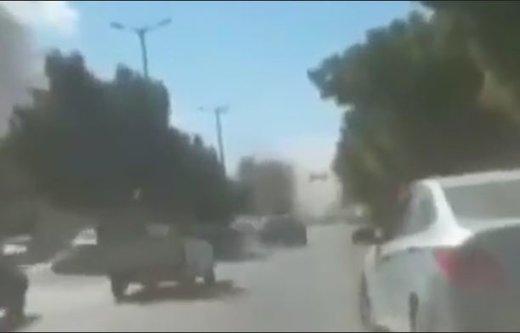 فیلم | جدیدترین ویدئو از انفجار بمب در چابهار