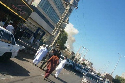 تصاویر منتشر شده از حادثه تروریستی در چابهار
