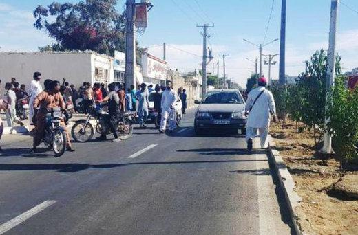 واکنش مردم محلی در لحظه وقوع حادثه تروریستی چابهار