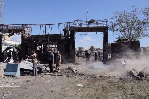 عکس/ ورودی اصلی ستاد فرماندهی ناجا در چابهار