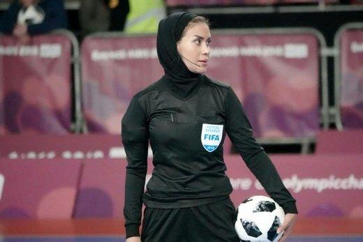 داوران زن ایرانی به ردهبندی و فینال جام ملتهای اروپا رسیدند