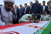 تصاویر | تشییع شهدای حادثه تروریستی چابهار