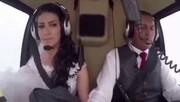 فیلم | سقوط مرگبار هلیکوپتری که عروس را به مراسم میبرد