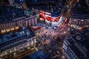 تصاویر | چشم انداز لندن در شب